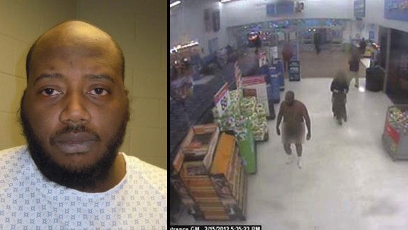 Naked man goes into a PA Walmart steals socks