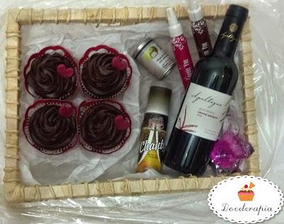 Dia dos Namorados: Criação da Doceterapia Cupcakes