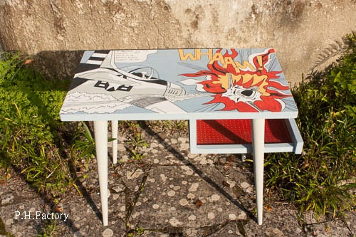 P h factory mesa popart - Mobiliario pop art ...