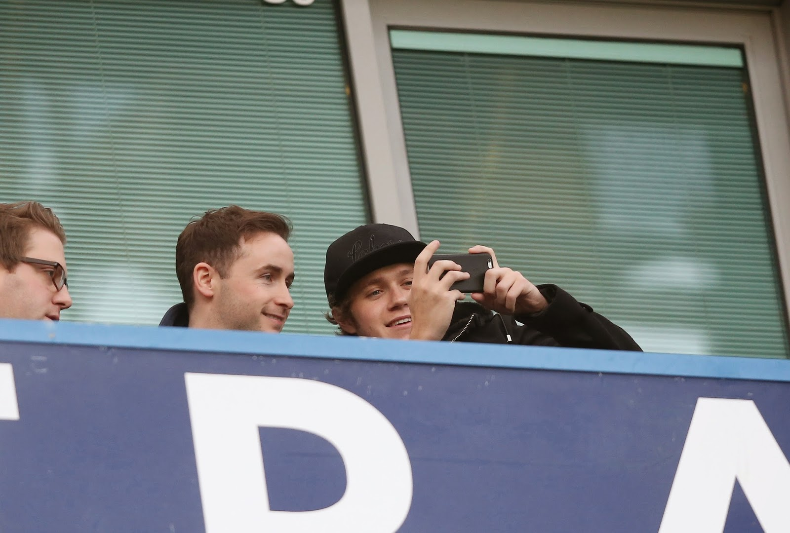 one direction, niall horan, london, 10.01.15, chelsea vs. newcastle united game, stamford bridge, uk, willie devine