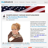 Sharyn Bovat Voice of a Moderate Talks About NISSAN Fraud
