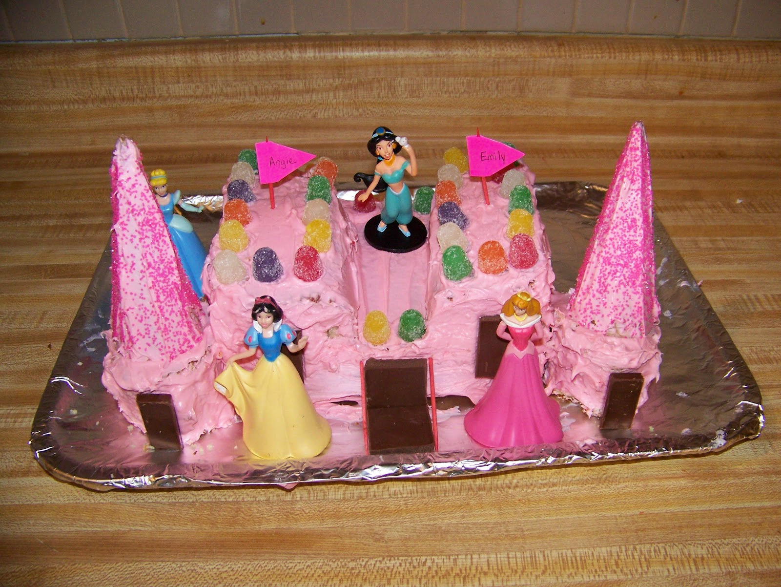 Making Cooley Stuff Princess Castle Cake