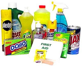 How To Secure Your Household Chemicals