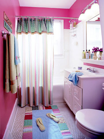 Modern furniture 2012 ideas for tween bathroom decorating for Bathroom girls pic