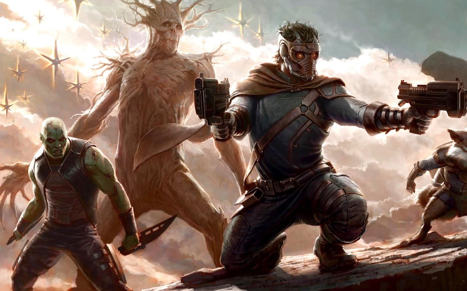 Guardianes de la Galaxia imágenes