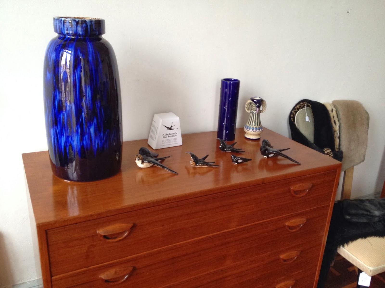 cómoda, nórdico, vintage, cerâmica, mid century, bordalo pinheiro