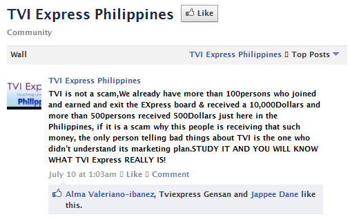 Kaseys korner tvi express philippines continues to lie on facebook tvi is not a scamwe already have more than 100persons who joined and earned and exit the express board received a 10000dollars and more than 500persons reheart Image collections