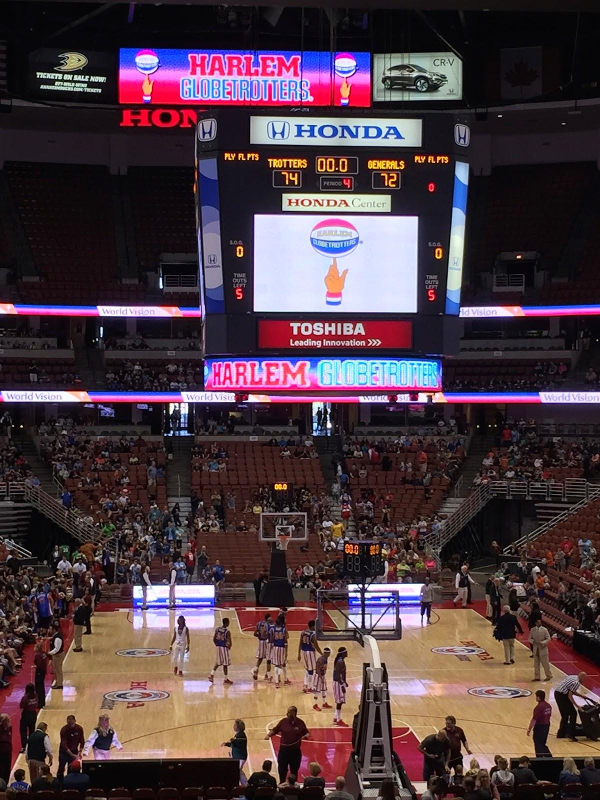 Honda Center Globetrotters