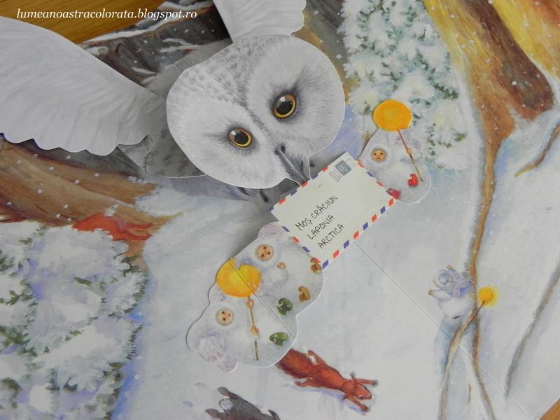 Spiridușii zăpezii găsesc o scrisoare editura Rao