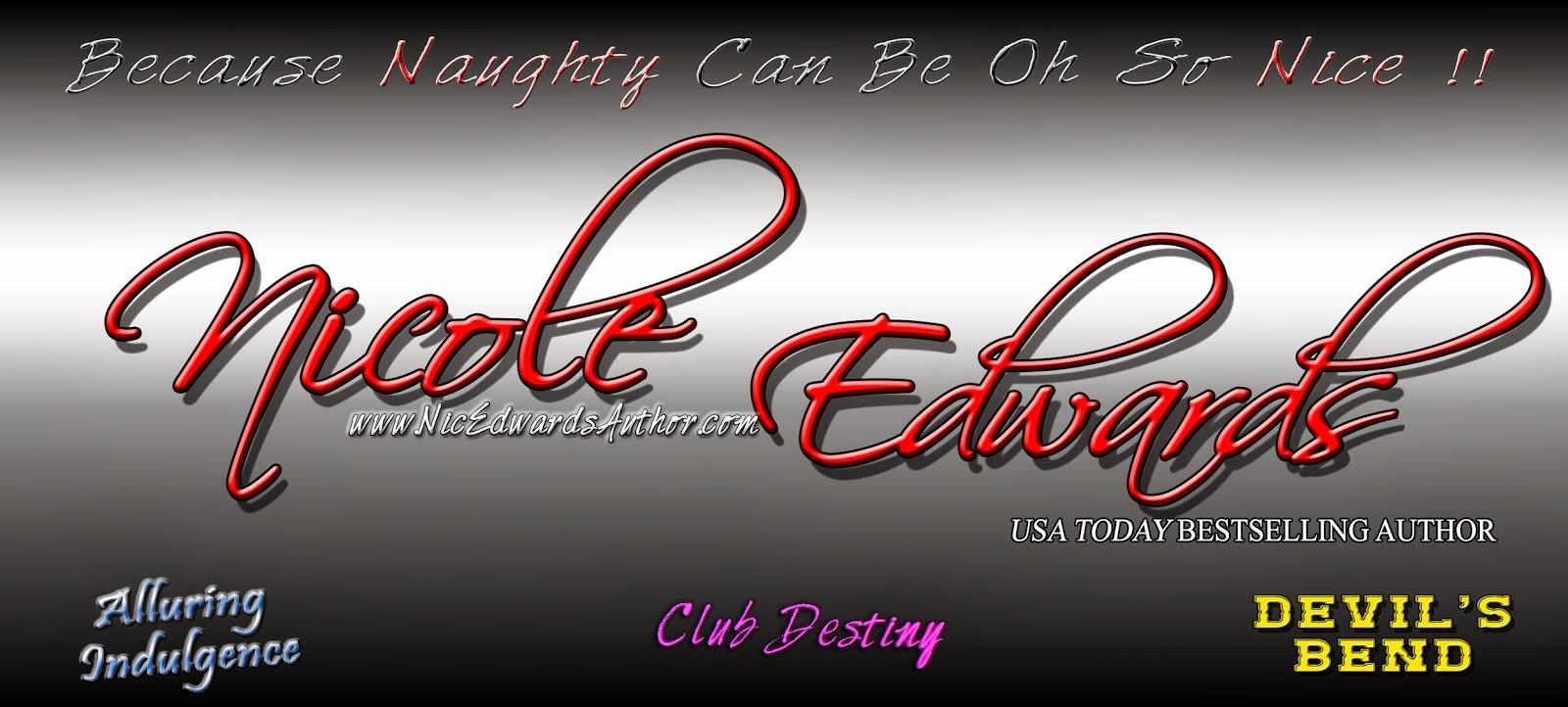 Nicole Edwards - Erotic Romance Author