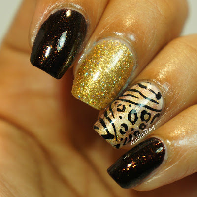 NailaDay: Salon Perfect Brown Sugar Zoo Skittlette