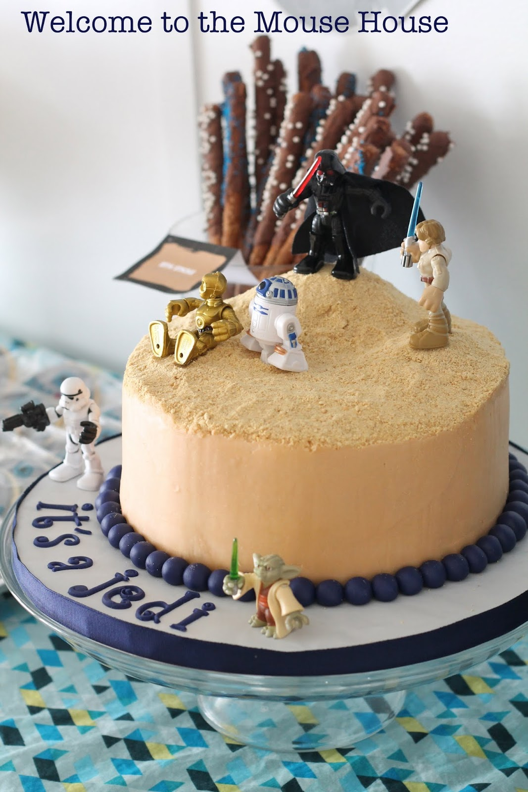 Marvelous Star Wars Themed Baby Shower