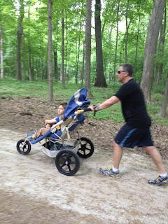 K double stroller