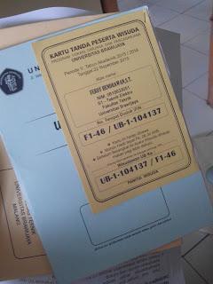 Satu Paket Undangan Wisuda Universitas Brawijaya