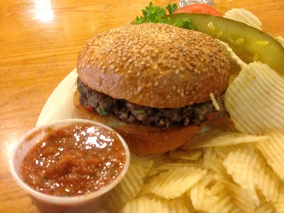 Veega Black Bean Burger