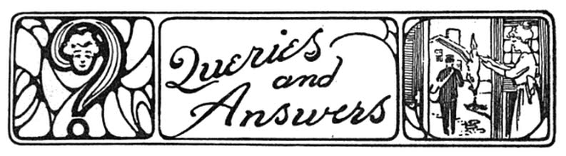 Queries and answers