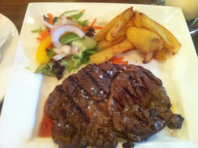 The Rivington Pub and Grill, Blackrod - Steak and Chips