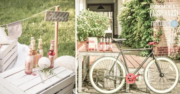 Gewinnspiel: Gewinne ein Single-Speed-Fahrrad von Einzig in cooler limitierter Krombacher Fassbrause-Sonderlackierung