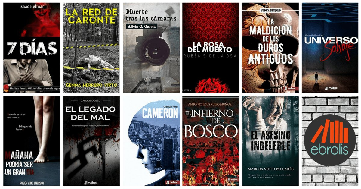 11 ebooks de novela negra pagando lo que quieras