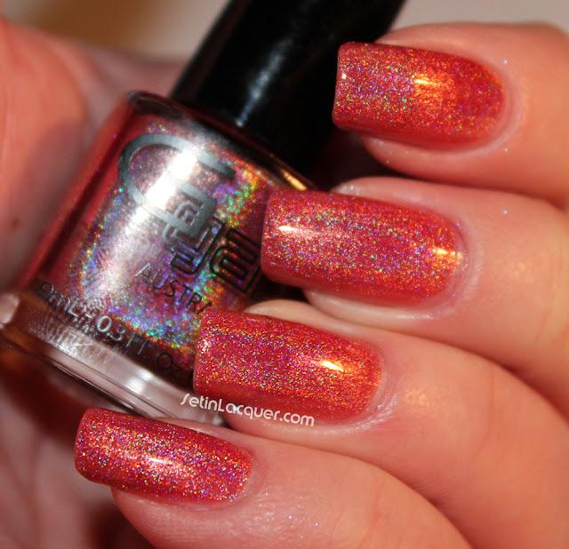 Glitter Gal - Copper