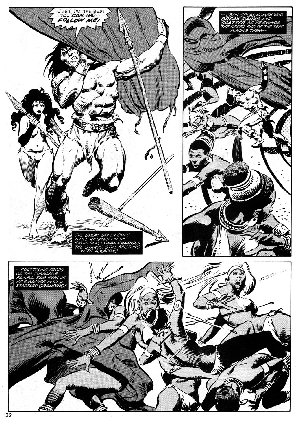 The Savage Sword Of Conan Issue #42 #43 - English 32