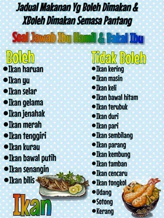 11 Makanan Yang Dilarang Ketika Hamil