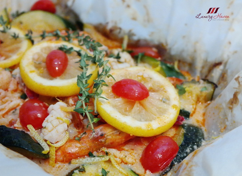 emborg whipping cream baked seafood parcel recipes