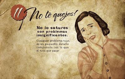 """""""Guía de la buena esposa - 11 reglas para mantener a tu marido feliz"""" - supuestamente publicado en 1953 por la Sección Femenina de Falange Española de las JONS Image12"""