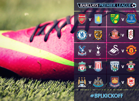 thesteifmastertake: English Premier League 2013-14 Fixtures