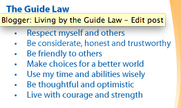 Australian Girl Guide Law