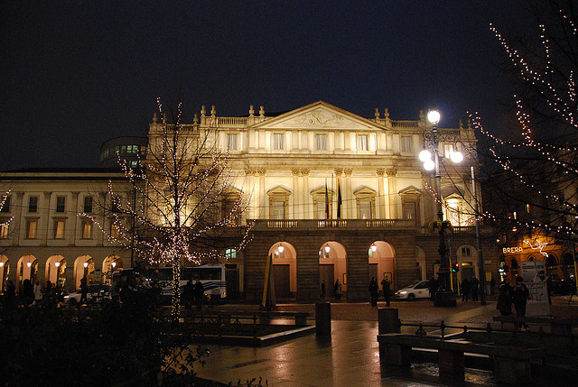 La Scala in Milan, Italy, has produced some of the greatest talents in the world. Photo: Jim Forest.