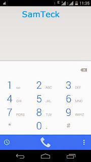 Dialler in Moto X2