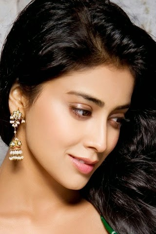 Actress Shriya Saran 320x480 Mobile Wallpaper