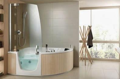Vasche idromassaggio guida alle migliori vasche combinate - Vasca da bagno con sportello prezzo ...