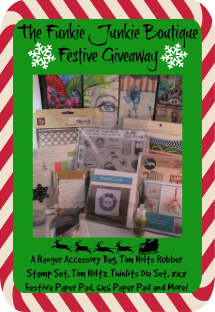 November Giveaway at the Funkie Junkie Boutique
