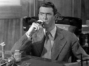 Movie Lovers Reviews It 39 S A Wonderful Life 1946 Jimmy Stewart Lasso 39 S The Moon