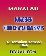 Download Makalah Manajemen Studi Kelayakan Bisnis