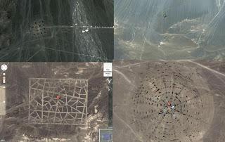 Porque a China está construindo estruturas gigantes no meio do deserto?
