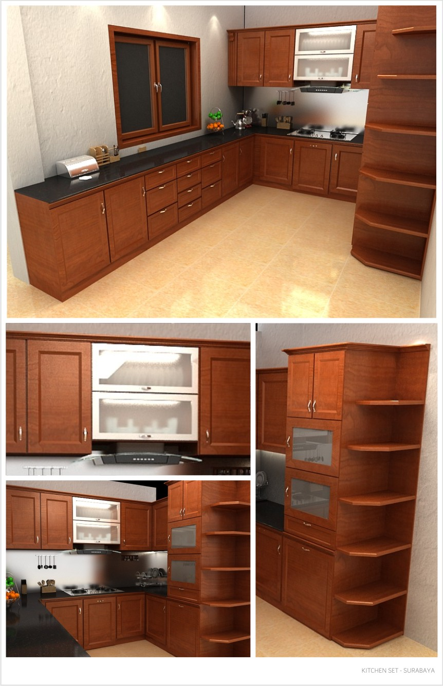 DESAIN KITCHEN SET