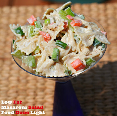 Food Done Light: Low Fat Macaroni Salad