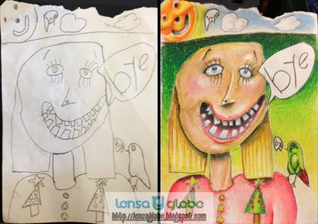 gambar keren dari seorang anak