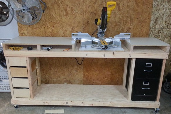 chop saw bench plans - 28 images - mitre saw stand plans work bench nyw jpg festool pinterest ...