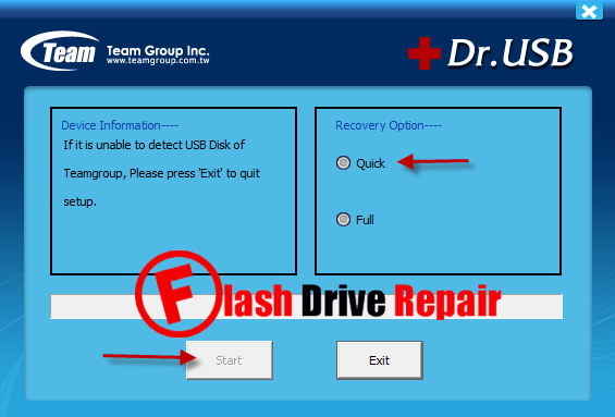 pen drive repair software free