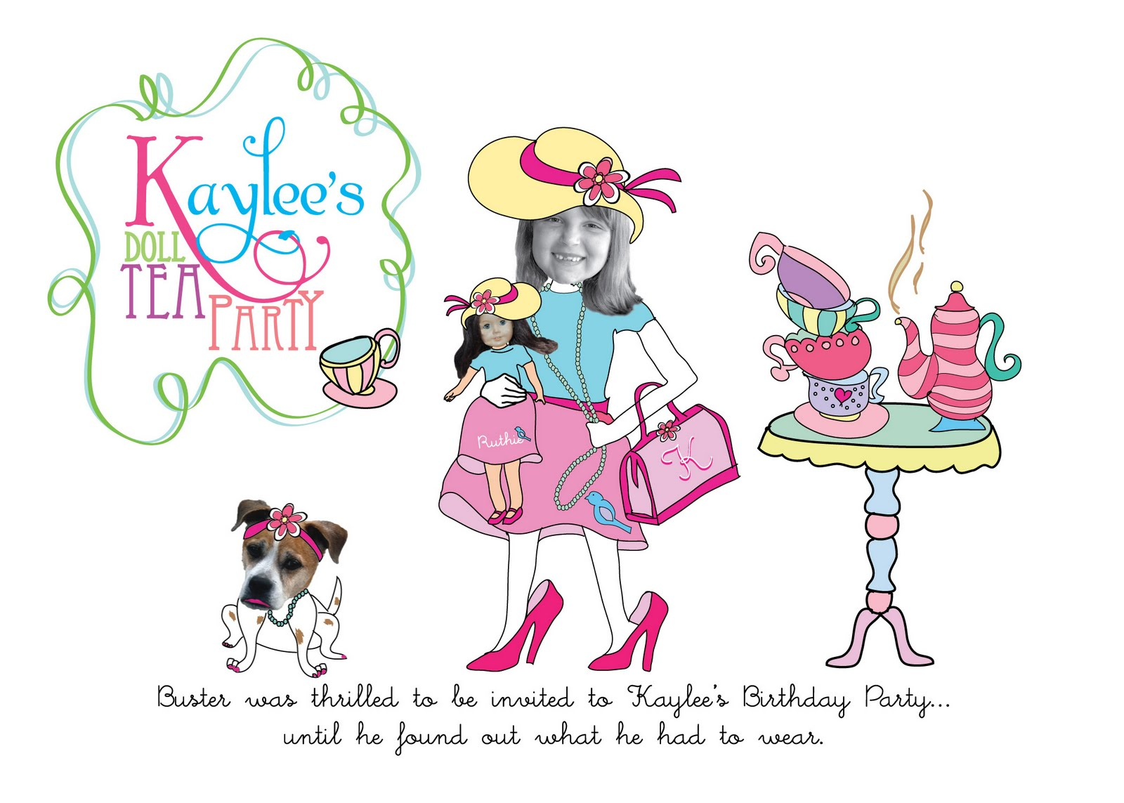 ewe hooo!: A Delightful Doll Tea Party!