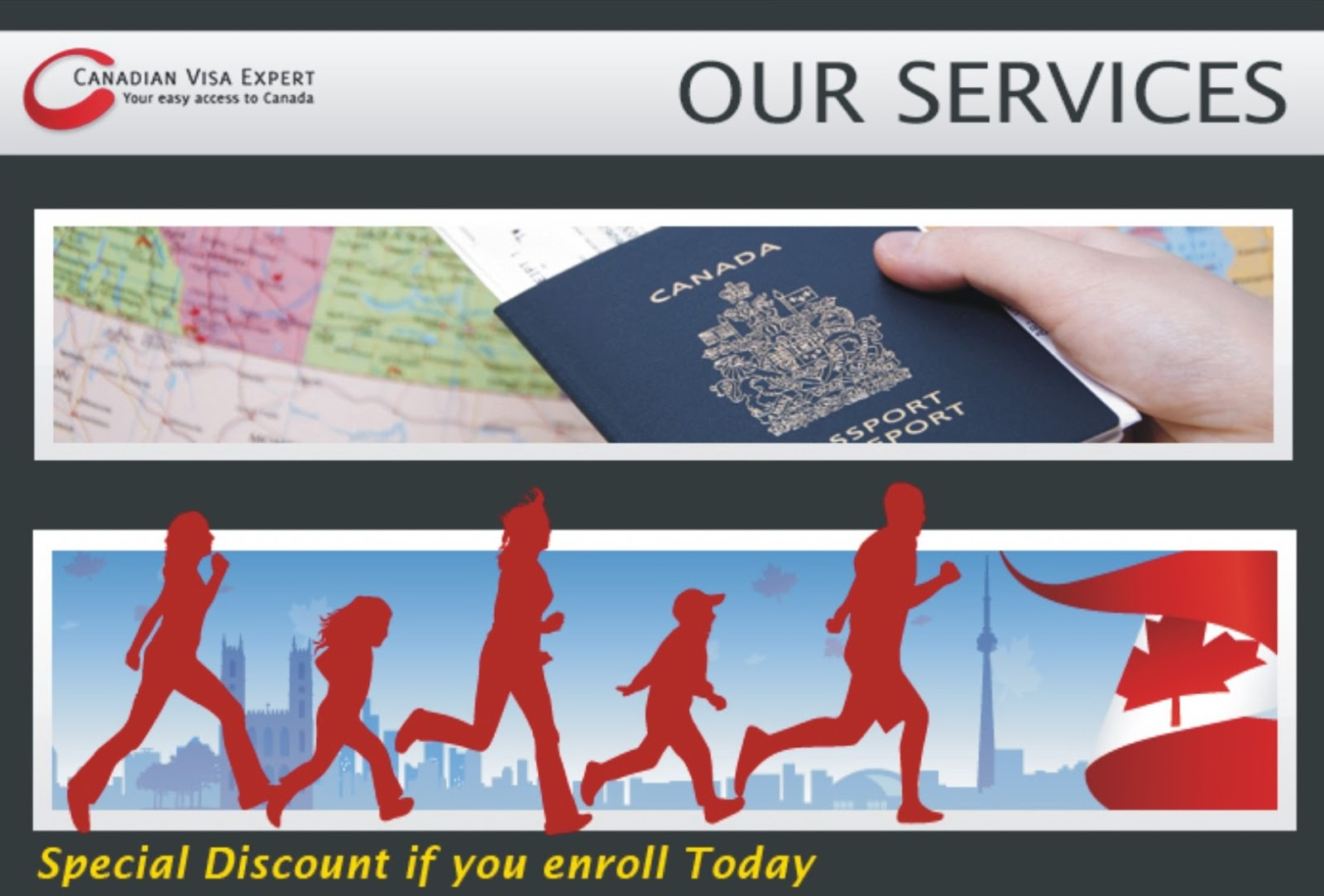 canada visa brochure It's time to tell your small business story these easy-to-make, full-color custom brochures from vistaprint are a great option if you're looking to tell your customers a complete story about your business perfect as handouts, takeaways or mailing inserts various paper stock options available.