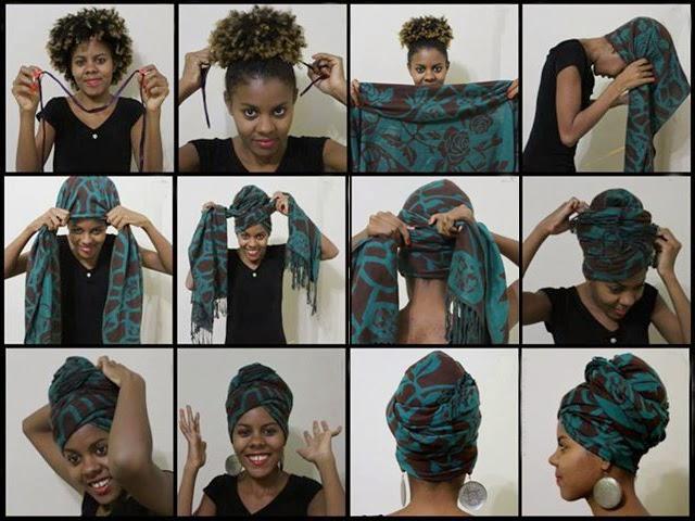 Как красиво завязать платок на