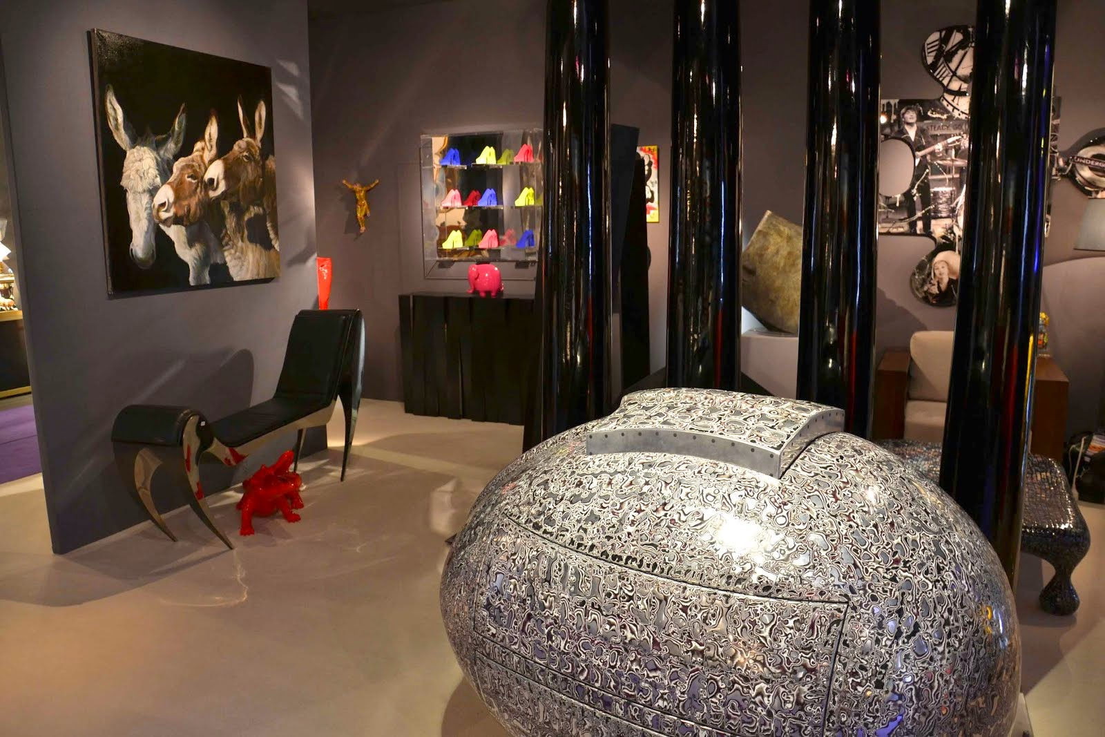 PARIS 8ème : CAPTON AU SALON DU 8ème - ANTIQUITÉS & ART CONTEMPORAIN AVEC LA GALERIE LE FLOCH