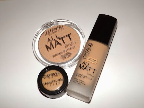 Catrice ALL MATT plus foundation/powder/concealer