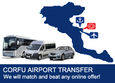 Corfu Airport Transfer