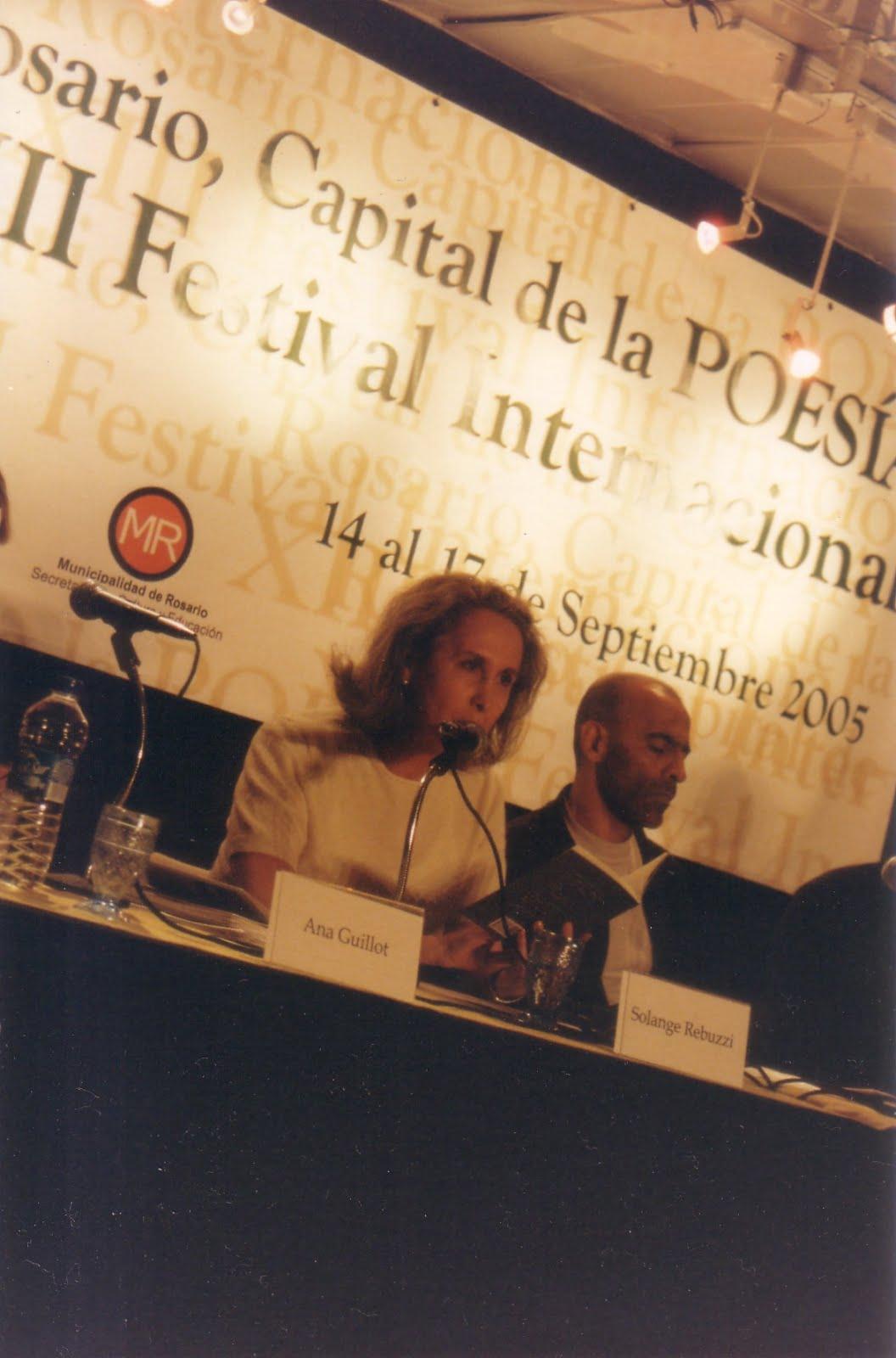 Festival Internacional de Poesia de Rosário - Argentina